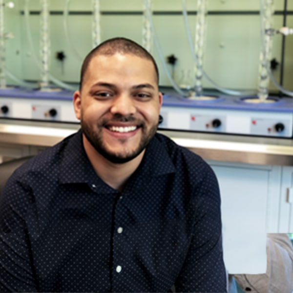 Photo of Corey Wilson, QC Lab Manager